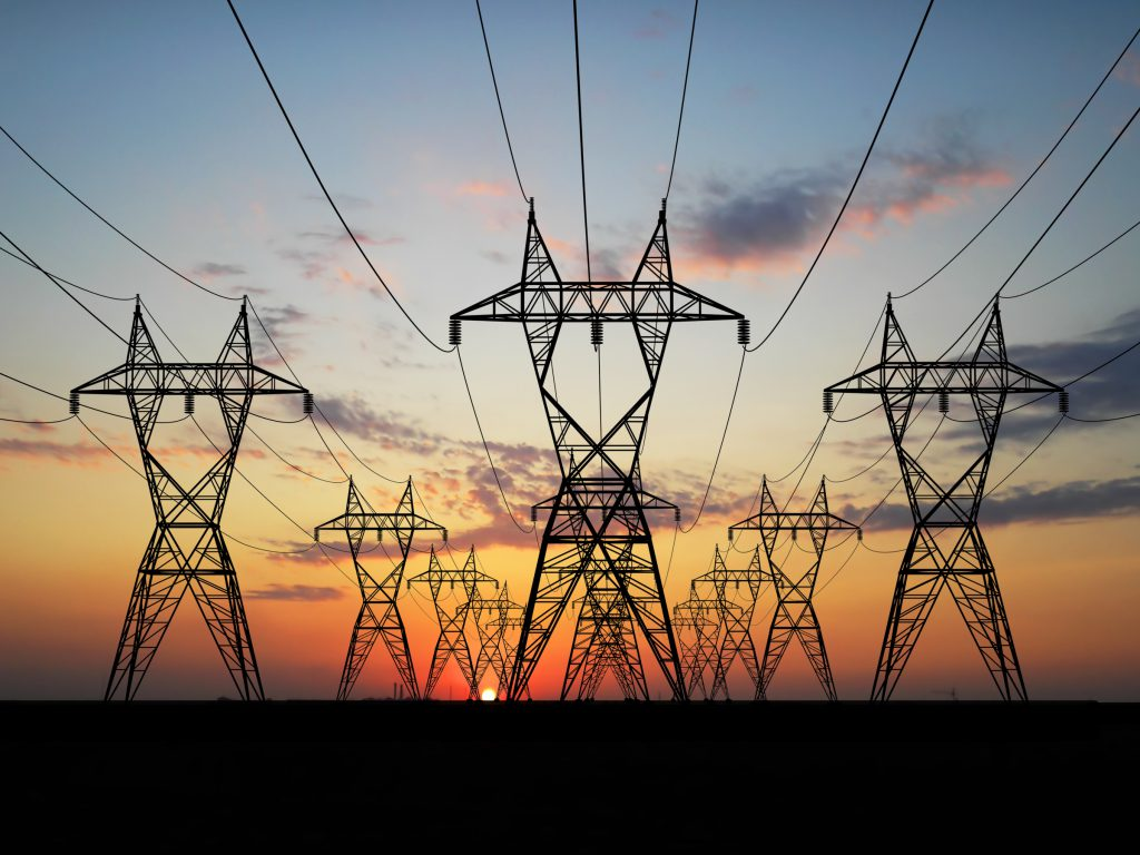 3D Electric powerlines